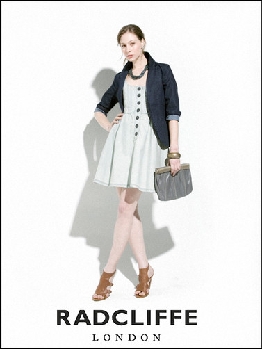 Radcliffe London Ad Campaign Tara Wallace Model