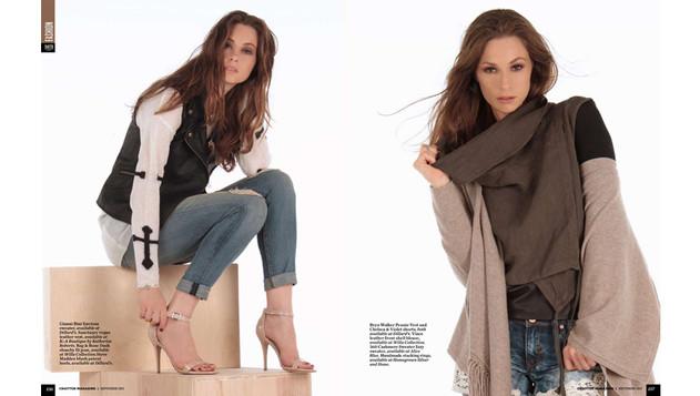 Magazine Editorial Model Tara Wallace