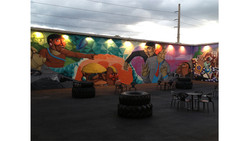 Painted Wall Miami