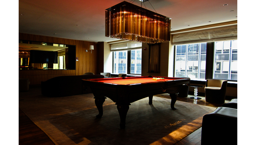 Private Pool Room NYC