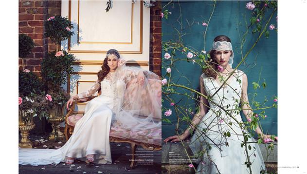 Bridal Editorial Tara Wallace Model