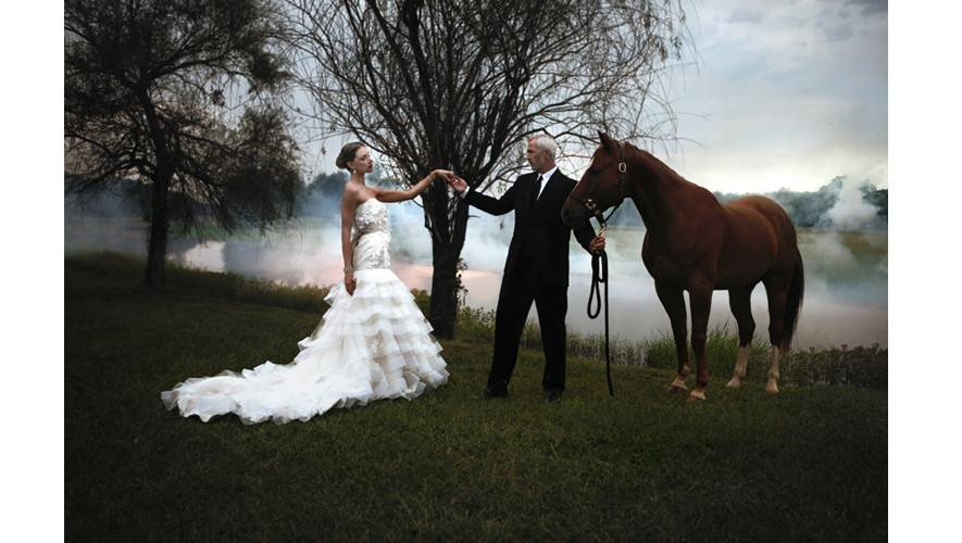 Wedding Editorial Tara & Mark Models Photo by Danny Acres