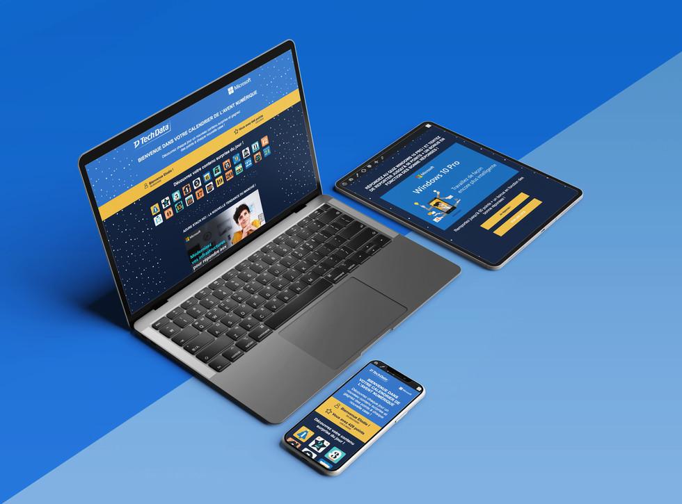 E-Calendrier de l'Avent | Tech Data x Microsoft