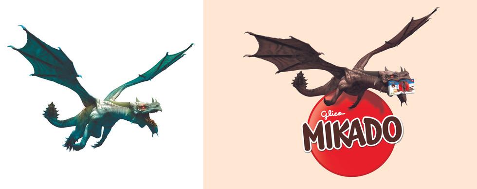 Retouche Dragon Mikado