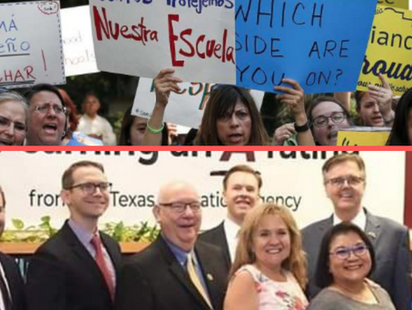 The SAISD board election is big business vs educators, students, and community.