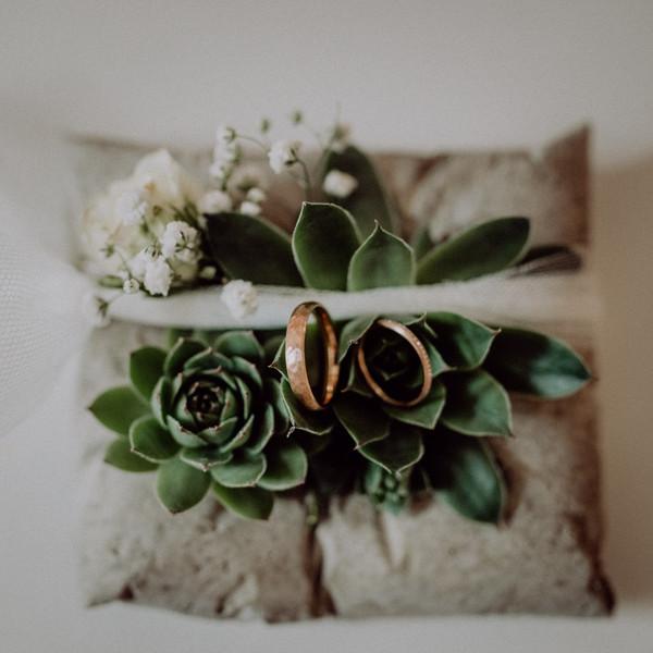 Brautgesteck Kissen