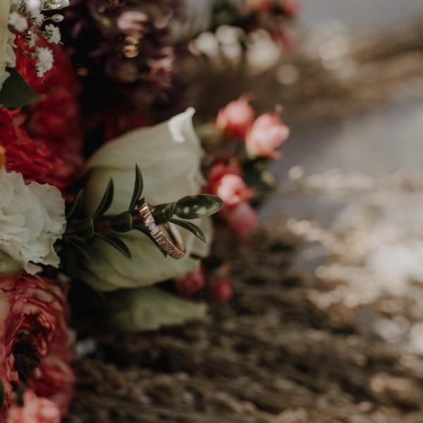 Brautstrauß Nahaufnahme