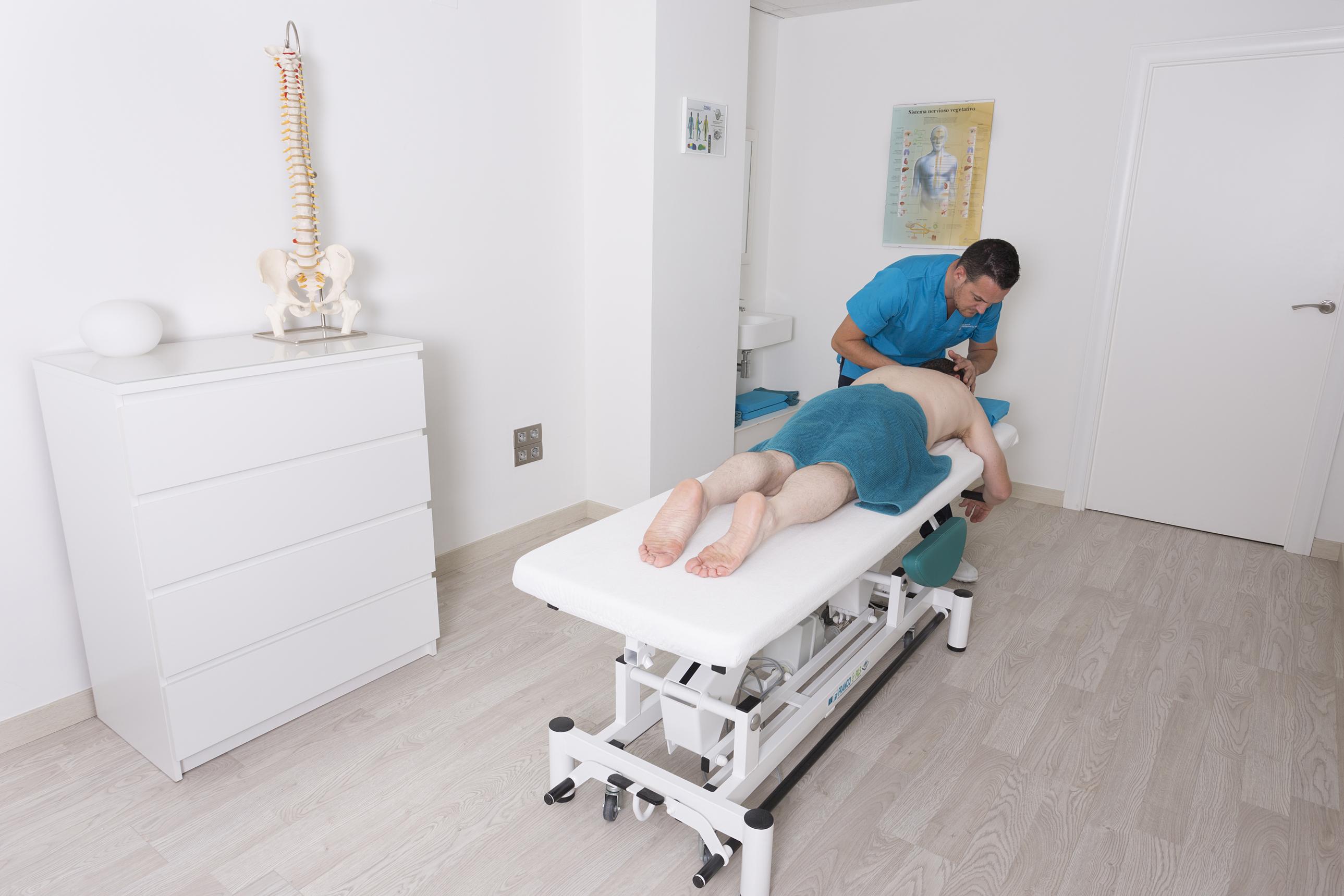 Tratamiento osteopático