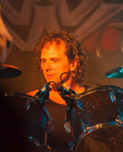 Marco on drums
