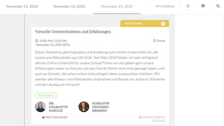 GLSC 2020 - Connecting to the German Language School Conference United States