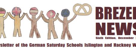 Brezel News December 2014 - Saturday Schools Islington & Hackney Wick