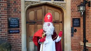 Überraschungsbesuch vom Nikolaus in der DSS Cambridge!