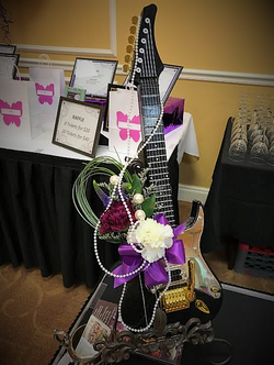 Guitar Themed Centerpiece