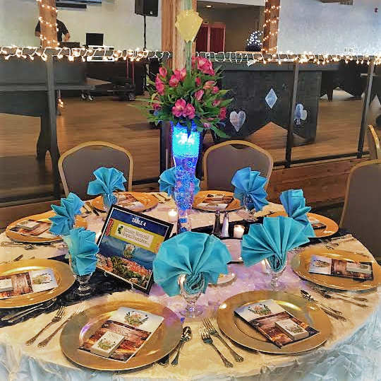 Tablescaping & Themed Centerpiece