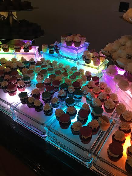 Lighted Dessert Display