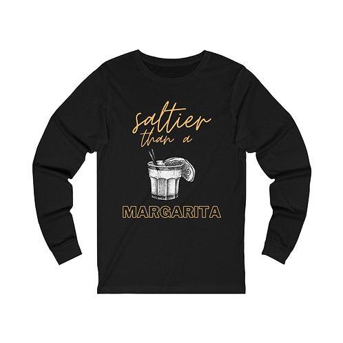 Saltier than a Margarita | Unisex Jersey Long Sleeve Tee