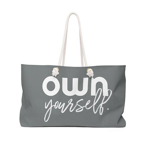 OWN Yourself Weekender Bag