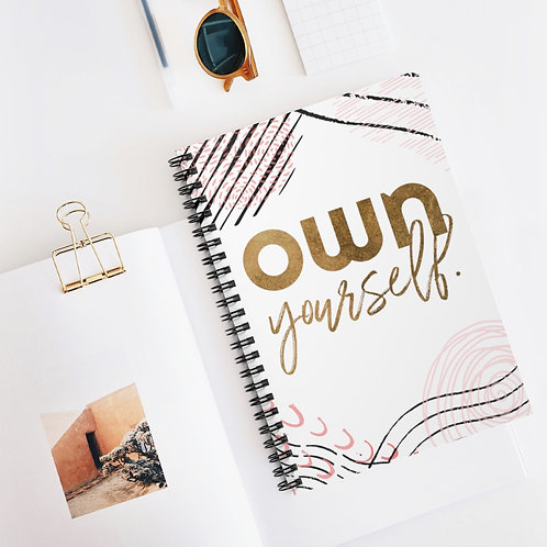 OWN Yourself Spiral Notebook - Ruled Line