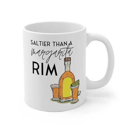 Saltier Than a Margarita | 11oz White Ceramic Mug
