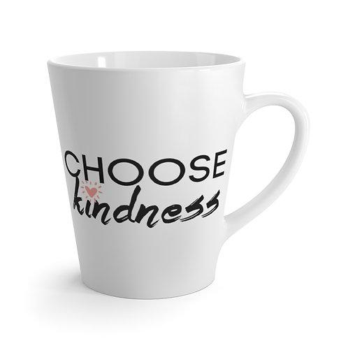Choose Kindness 12oz Coffee Latte mug