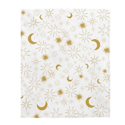 Celestial Velveteen Plush Blanket