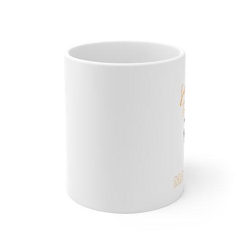 Saltier Than a Margarita 11oz White Ceramic Mug