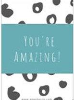 You're Amazing Postcard
