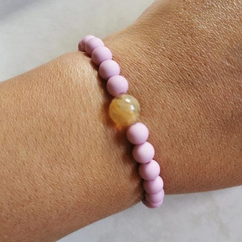 Kid's Lavender Pink and Citrine