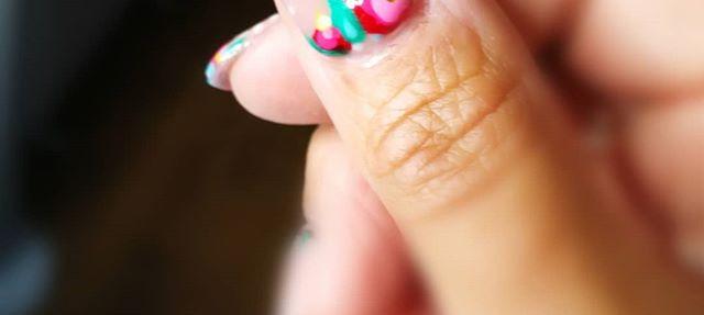 CUTE AS A BUTTON_🌺🌸🌼Floral nail art o