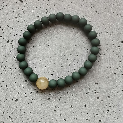 Canton Green with Citrine