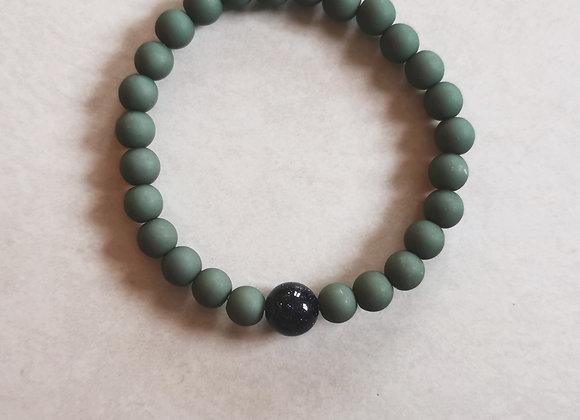 Bistro Green and Dark Blue Sandstone