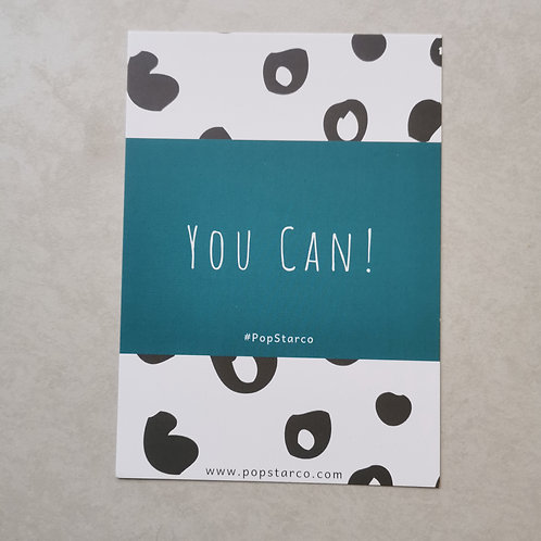You Can Affirmation Postcard
