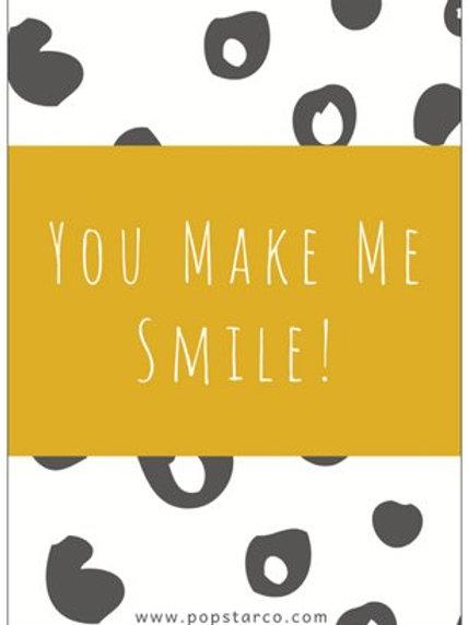 Postcard You Make Me Smile