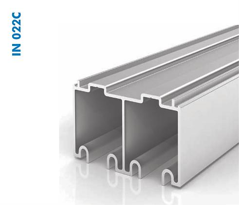 Trilho Superior Suspenso de Aluminio