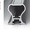 Thumbnail: Perfil de Porta Anodizado IN 011D