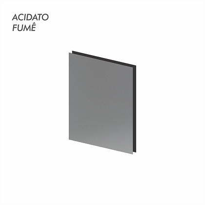 Acidato Fumê 4MM