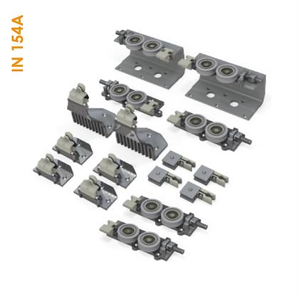 Kit suspenso externo SS150+/3 para 3 portas (1 Externa e 2 Internas) - IN 154A