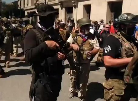 Armed Militia On US Streets
