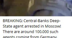 Central Banks Deep State Agent Arrested