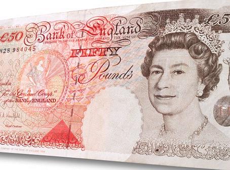 £50 Note To Stick Around...