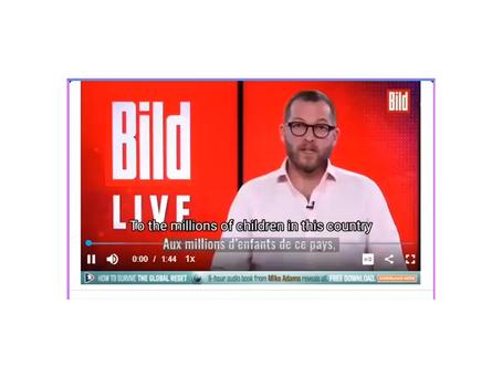 Fringe Mainstream News Breaks Cover...