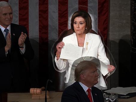 Pelosi Ripped Up Trump's Speech