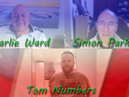 Charlie Ward, Simon Parkes & Tom Numbers...