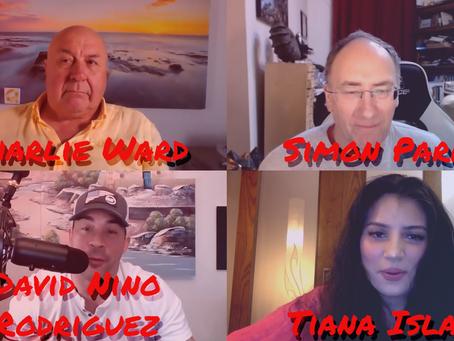 Simon Parkes, Charlie Ward, David Nino Rodriguez & Tiana Islam