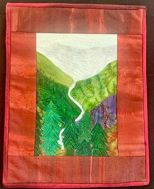 Make original quilts from travel memories based on photographs