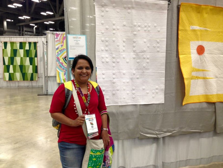 Why you should enter your quilt in a quilt show...