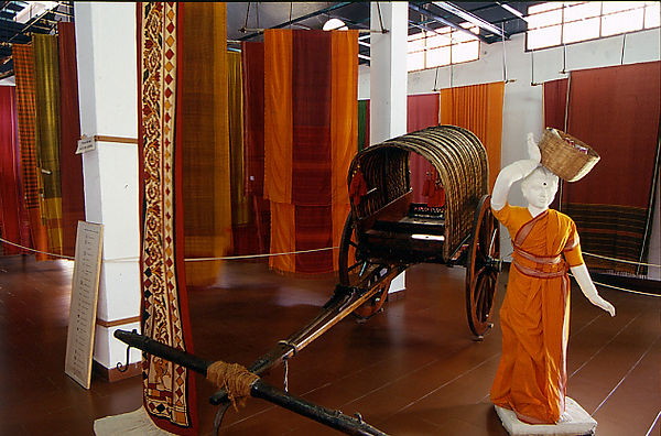 Kanchi house-textile gallery (Bharat Ram