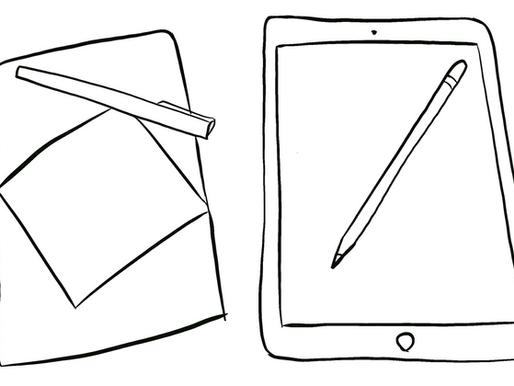 iPencil or Graphite Pencil?