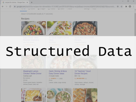So What Is Structured Data, Really: The Basics