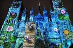 Cathédrale de lumière / Rouen / été